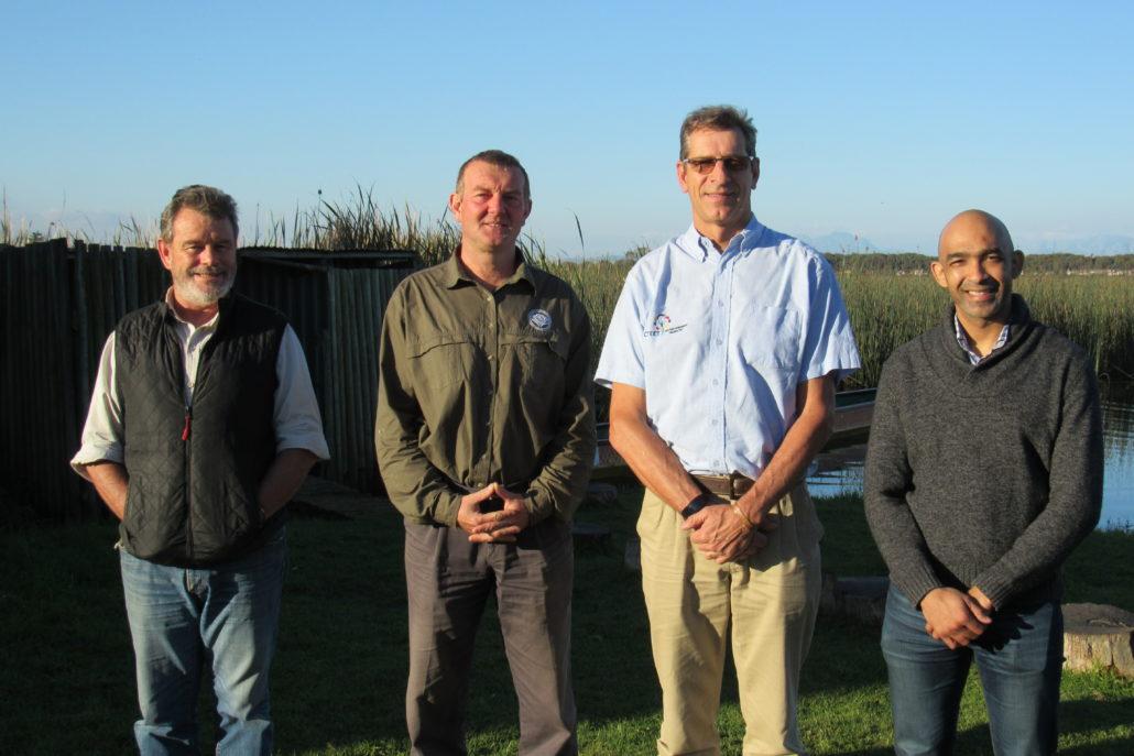 Mike Gregor, Dalton Gibbs, David de Korte (Chairman) and Armand Bam