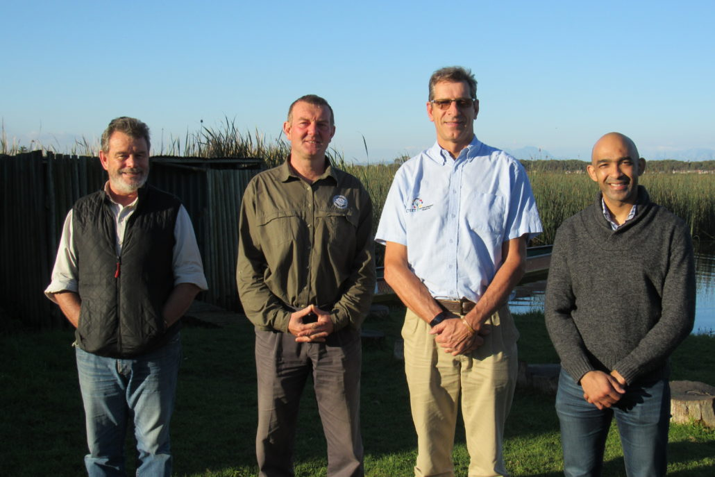 Mike Gregor, Dalton Gibbs, David de Korte (Chairman) and Armand Bam