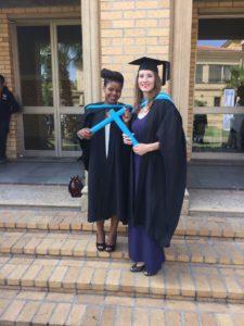 Karen & Zoliswa Graduation